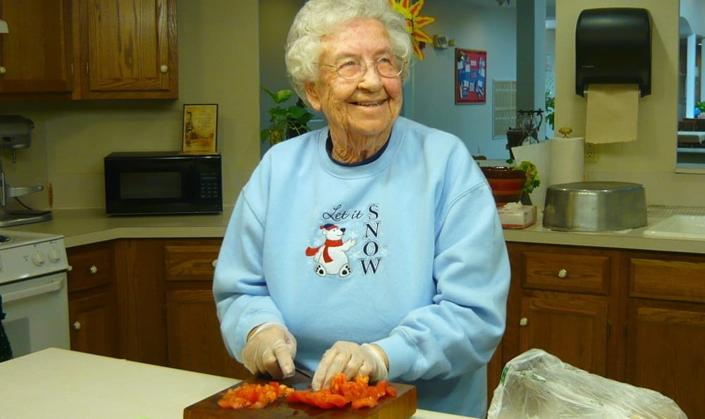 Do some baking at Garden Square Assisted Living of Casper.