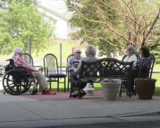 Resources available at Garden Square Assisted Living of Casper.
