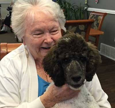 Pet friendly at Garden Square of Greeley Assisted Living and Memory Care.