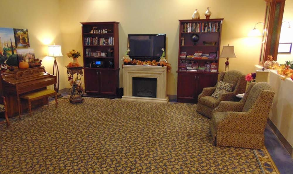 Activities room at Lakeview Terrace of Boulder City