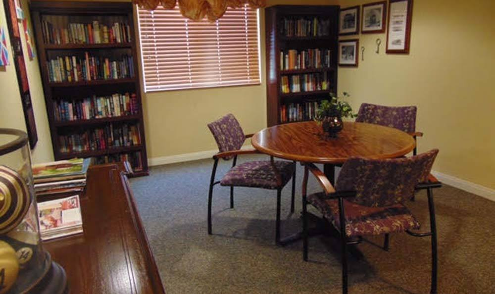 Library at Lakeview Terrace of Boulder City