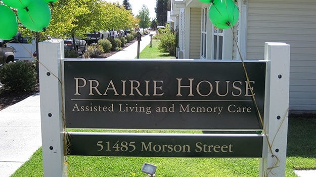 Welcome home to Prairie House Assisted Living and Memory Care.