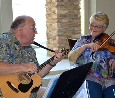 Residents at The Vistas Assisted Living and Memory Care.