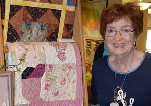 The Vistas Assisted Living and Memory Care quilt show.