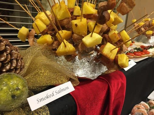 delicious catered event at The Vistas Assisted Living and Memory Care