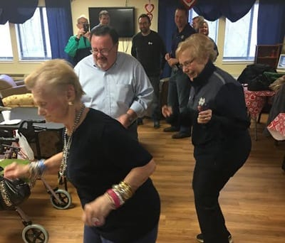 Party at Wood Ridge Assisted Living
