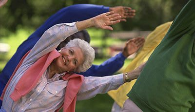 Fitness at Wood Ridge Assisted Living.