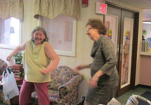 Wood Ridge Assisted Living offers great activities.