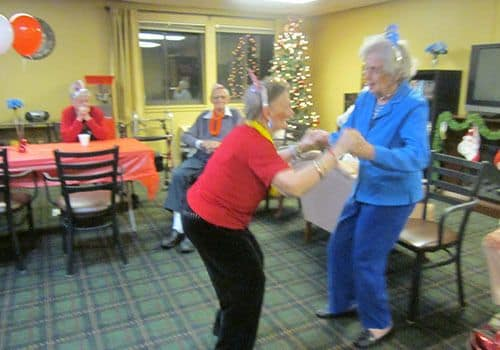 Enjoy group activities at Wood Ridge Assisted Living.