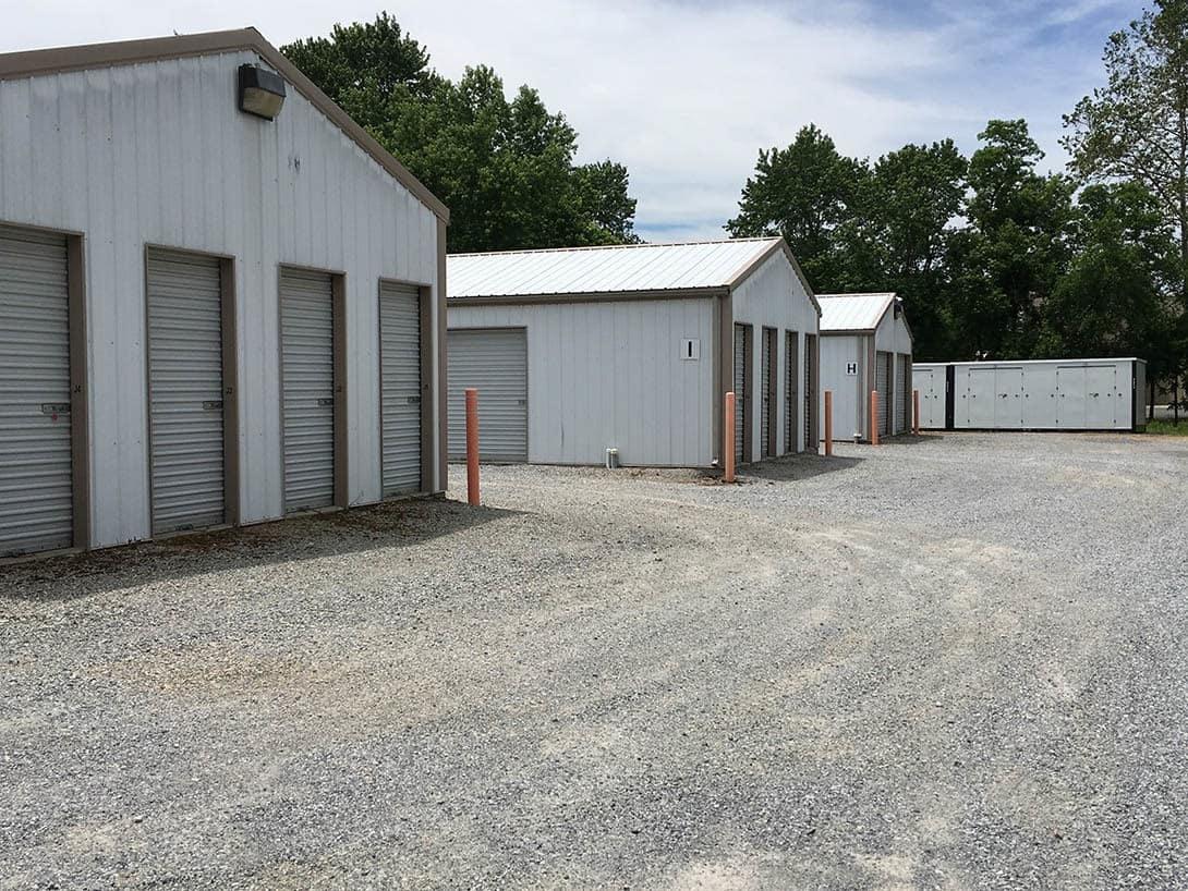 Storage units at Beaver Creek Mini-Storage