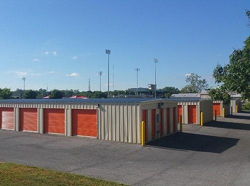 Storage buildings at The Storage Bin - Baltimore Street