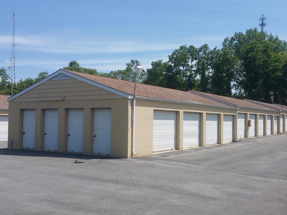 Storage buildings at The Storage Bin - Eldridge