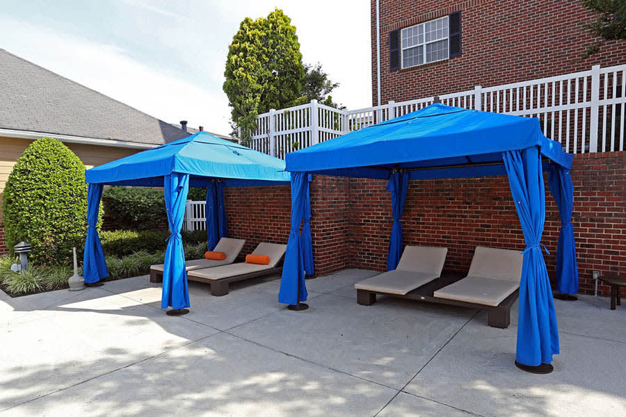 Another picture of a cabana at Grand Reserve at Pavilions