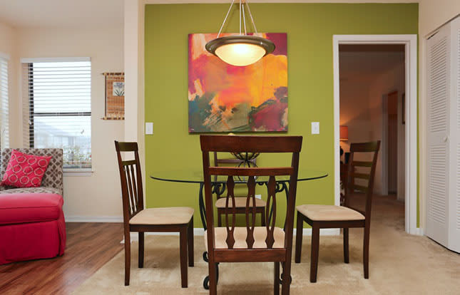 Modern Dining Rooms At Parc Shores