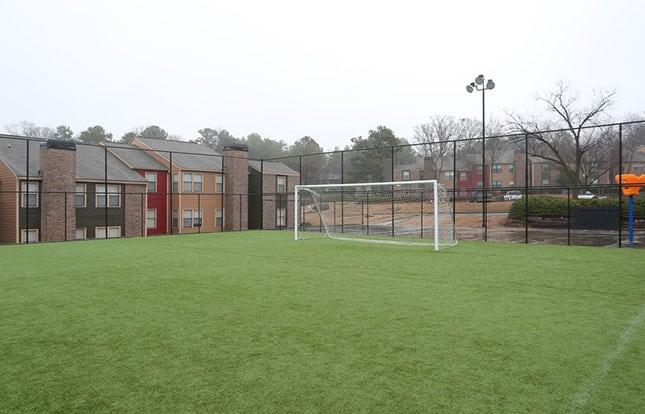 Soccer Field At Parc Shores