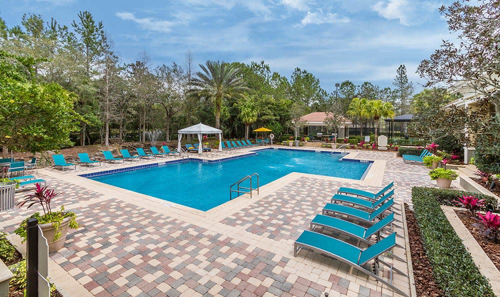 Resort Style Swimming Pool at The Preserve at Tampa Palms in Tampa, FL