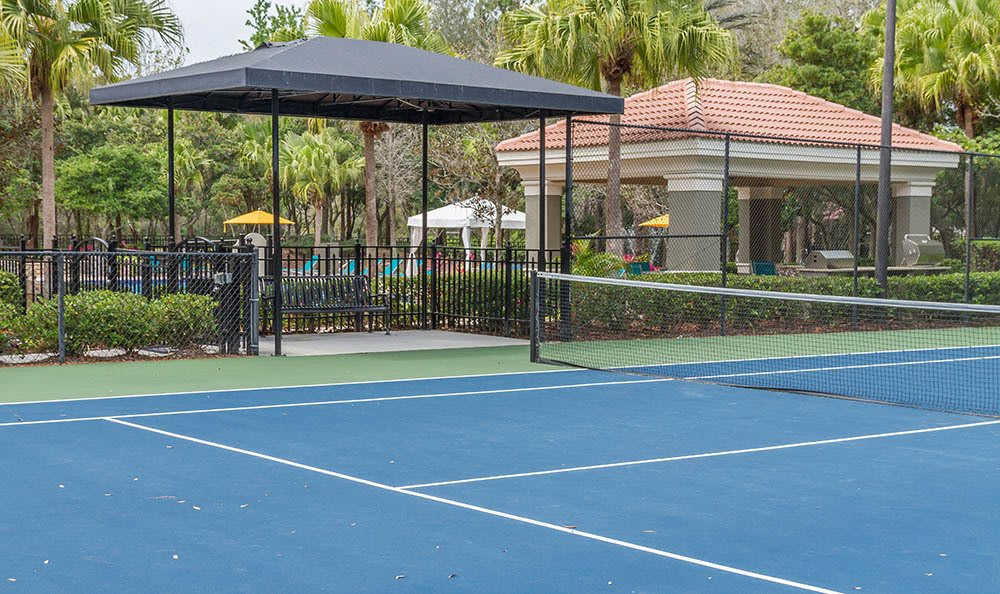 Tennis Courts at The Preserve at Tampa Palms in Tampa, FL