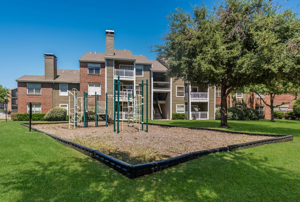 Playground at South Pointe Apartments in Dallas