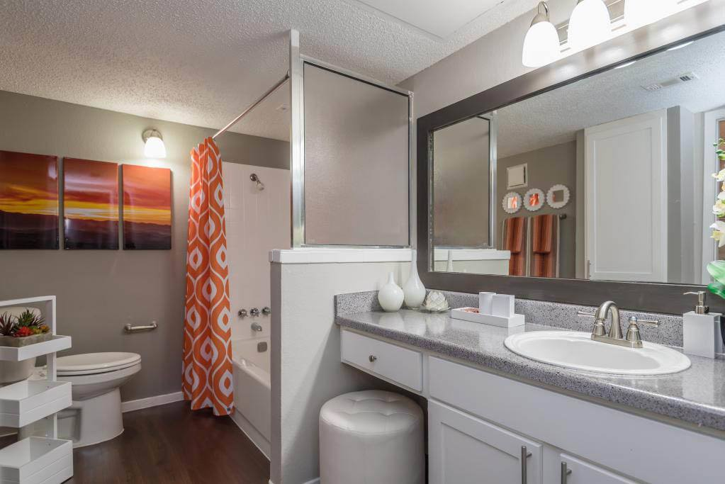 Luxurious Bathroom at The Carling on Frankford in Carrollton, TX