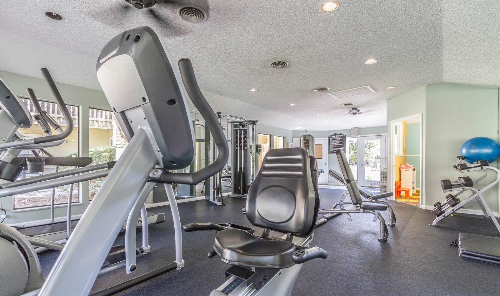 Fitness Center at Autumn Cove in Orange Park
