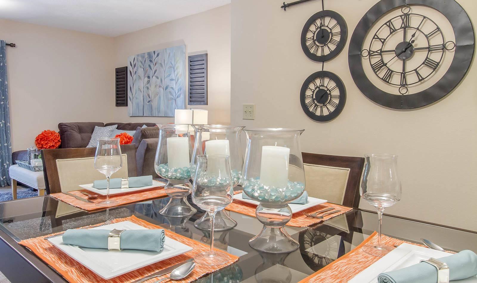 Dining Room at Autumn Cove in Orange Park