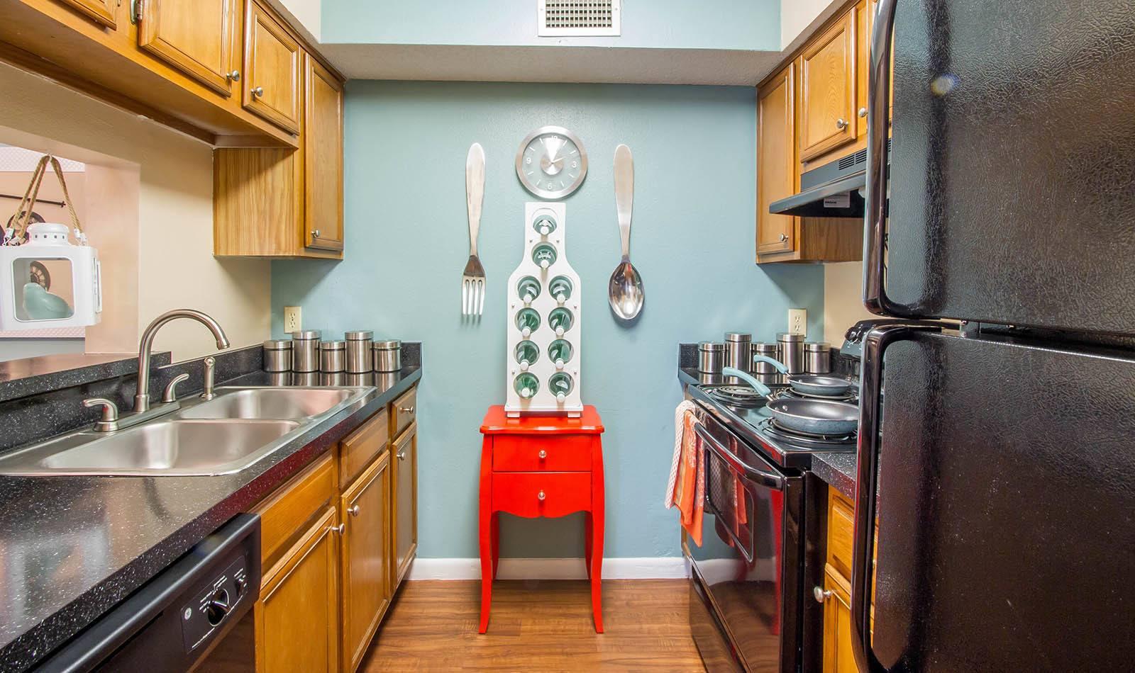 Kitchen at Autumn Cove in Orange Park
