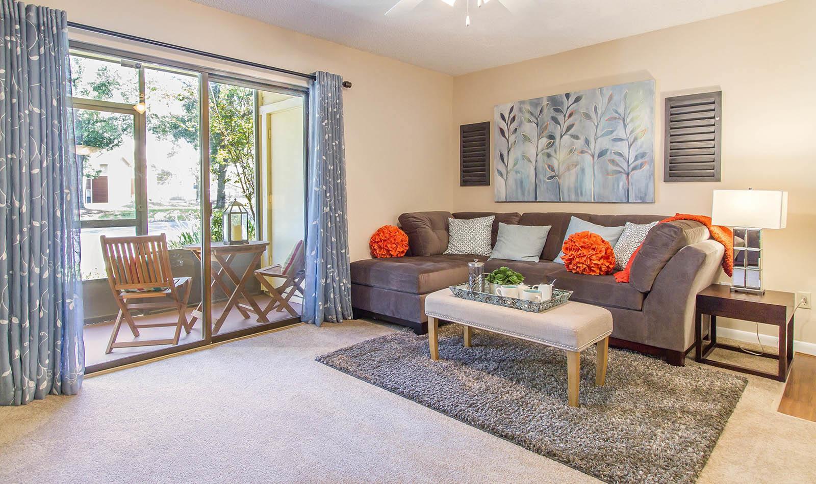 Living Room at Autumn Cove in Orange Park