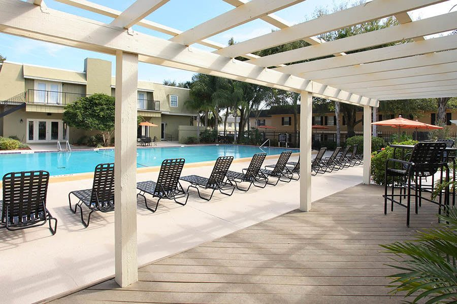 Outdoor pool at Briarcrest at Winter Haven in Winter Haven