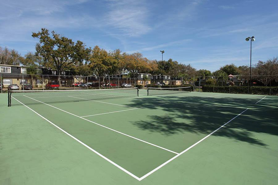 Tennis courts at Briarcrest at Winter Haven in Winter Haven