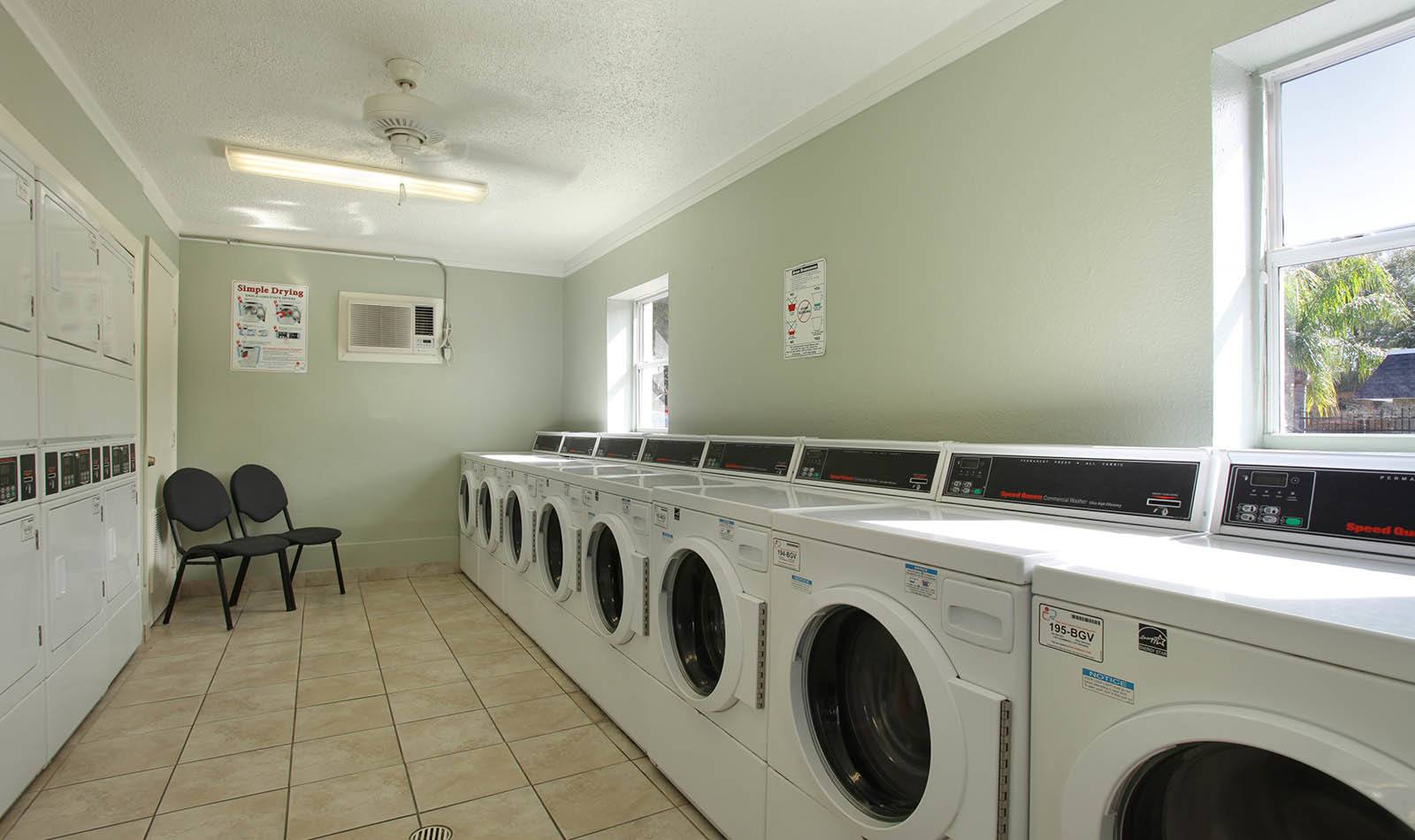 Laundry facility at Briarcrest at Winter Haven in Winter Haven, FL