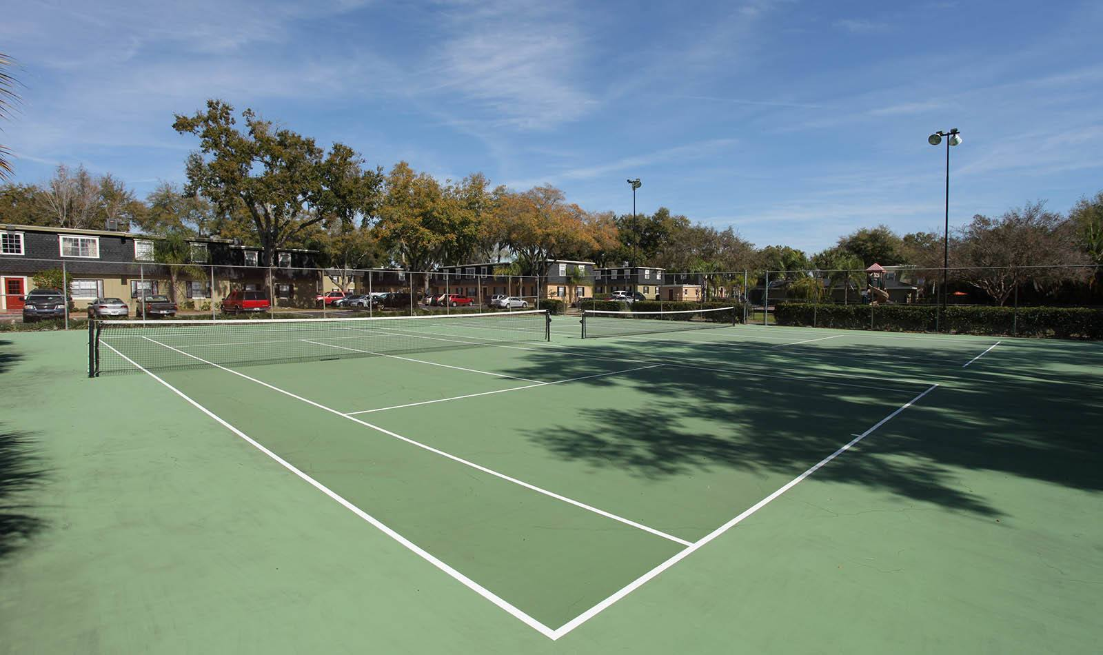 Tennis court at Briarcrest at Winter Haven in Winter Haven, FL