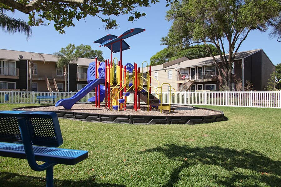 Playground at Coopers Pond Apartments in Tampa