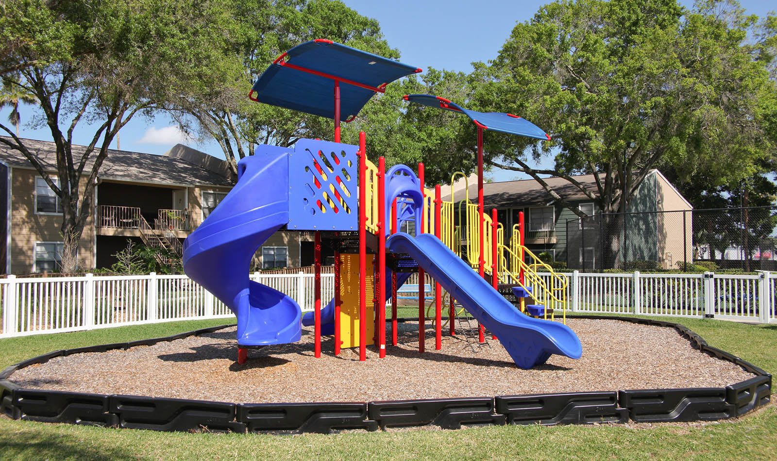 Playground at apartments in Tampa, FL