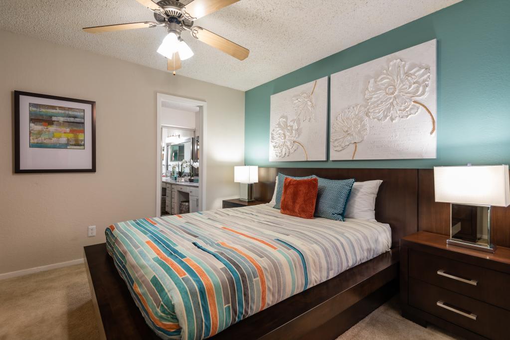Spacious Bedroom at Heritage Park in Arlington, TX
