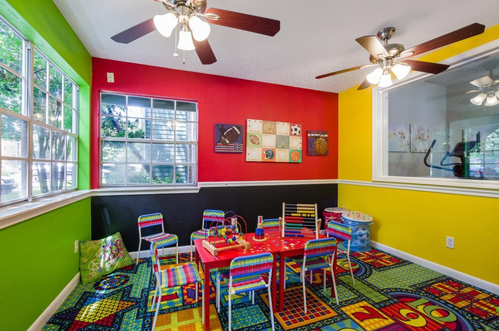 Playroom at Landmark at Amelia Ridge in Round Rock