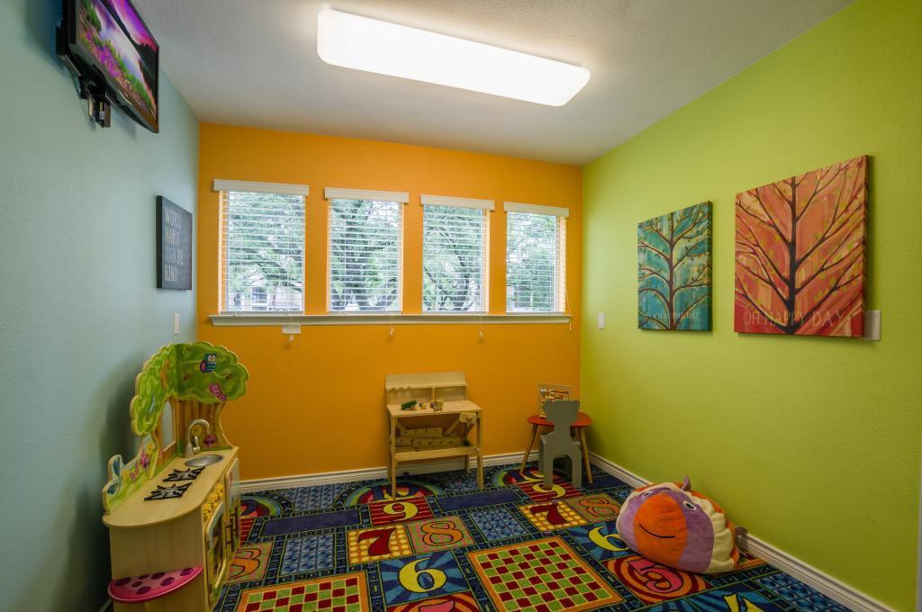 Play Room at Landmark at Atrium Commons in San Antonio