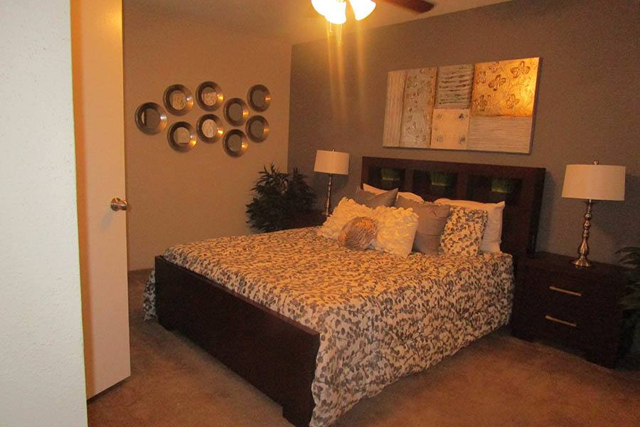 Bedroom at Landmark at Kendall Manor