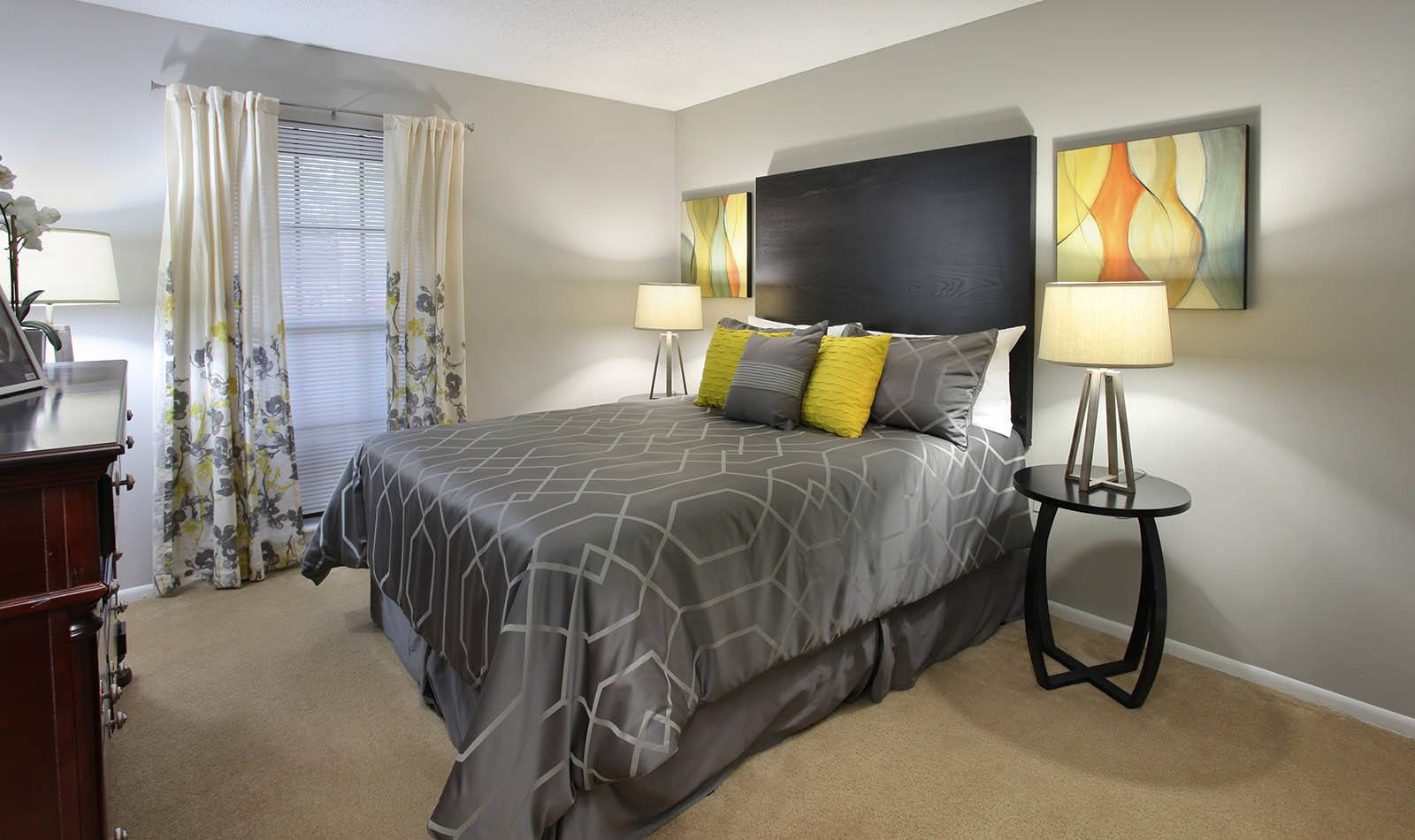 Bedroom at Legend Oaks Apartments in Tampa