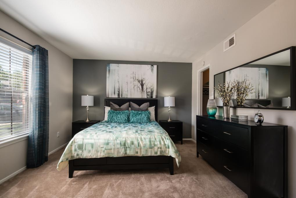 Bedroom at Lofton Place in Fort Worth