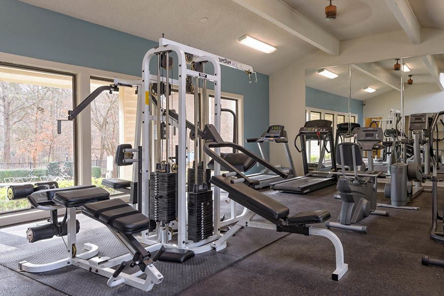 Fitness Center at Madison Southpark in  Charlotte
