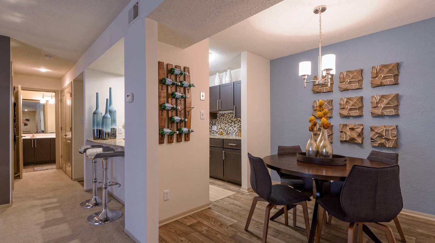 Kitchen And Dining Room at Madison Southpark in Charlotte