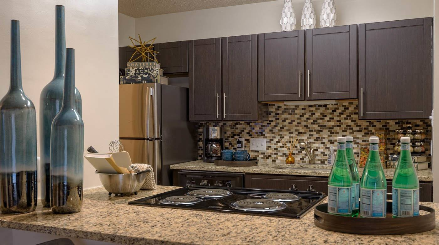 Updated Kitchen at Madison Southpark in Charlotte