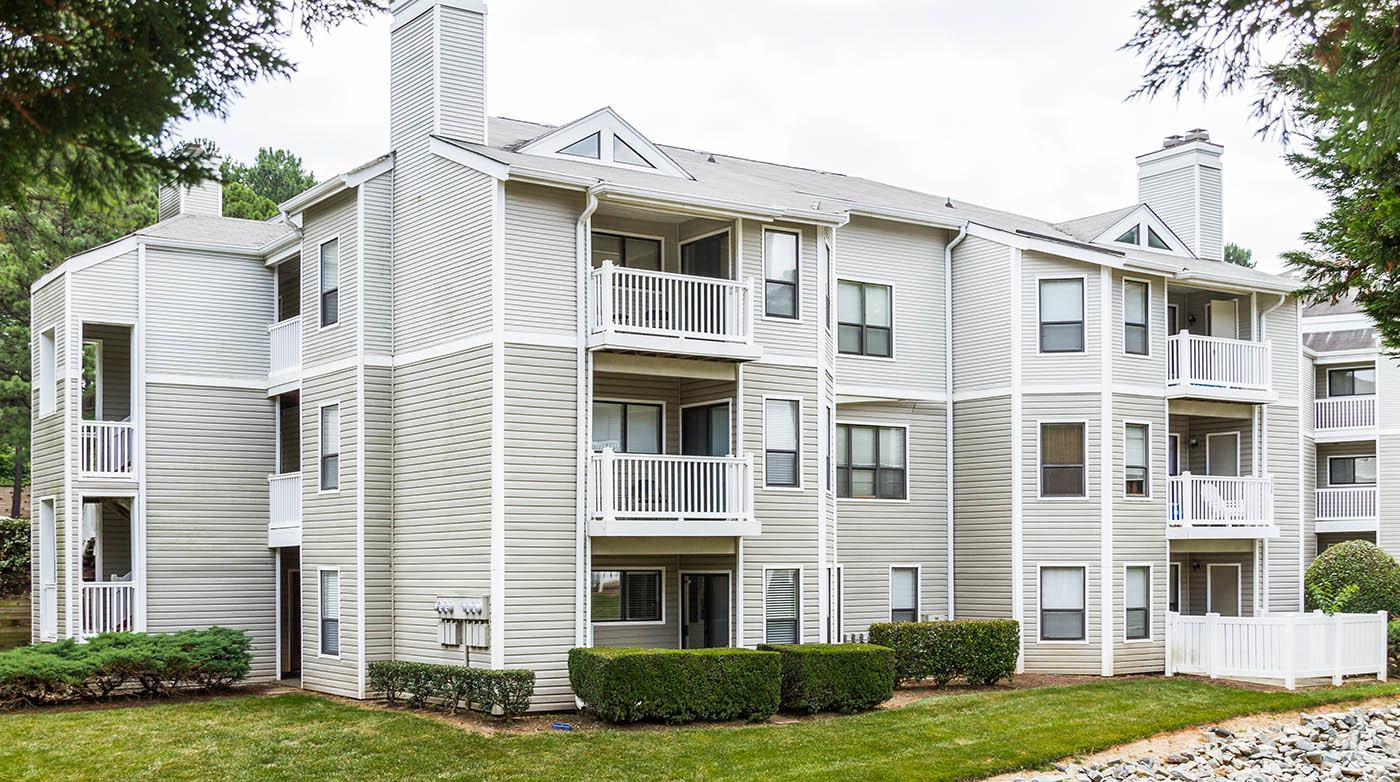 Apartment Exterior at Bridges at Mallard Creek in Charlotte, NC