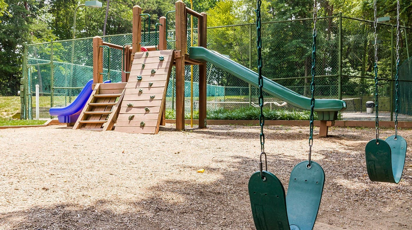 Playground Equipment at Bridges at Mallard Creek in Charlotte, NC