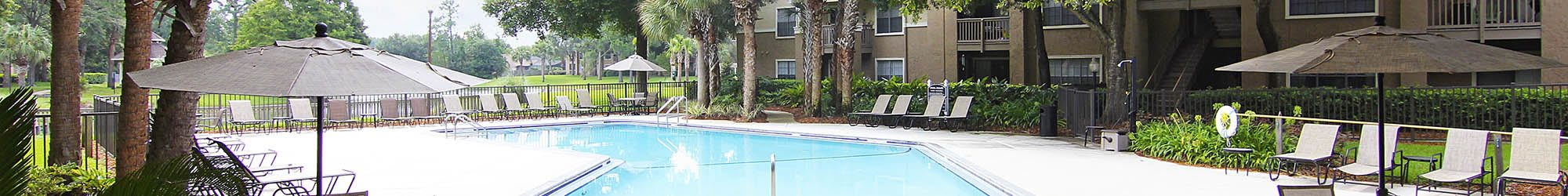 1, 2 & 3 bedrooms offered at apartments in Jacksonville