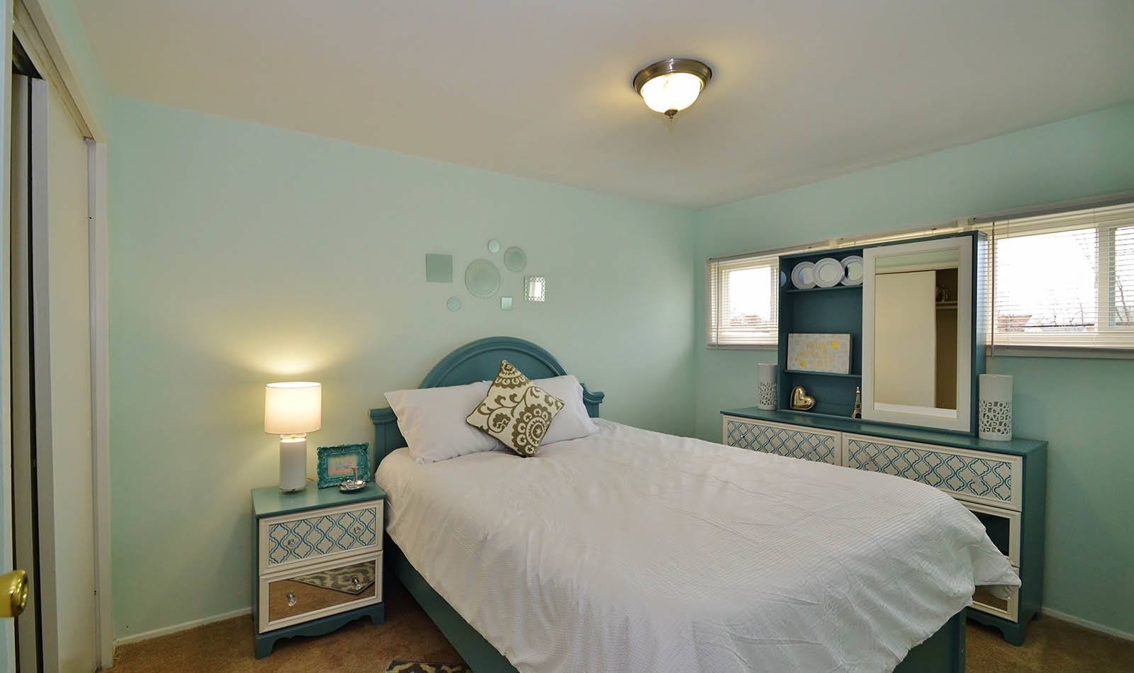 Bedroom at apartments in MD