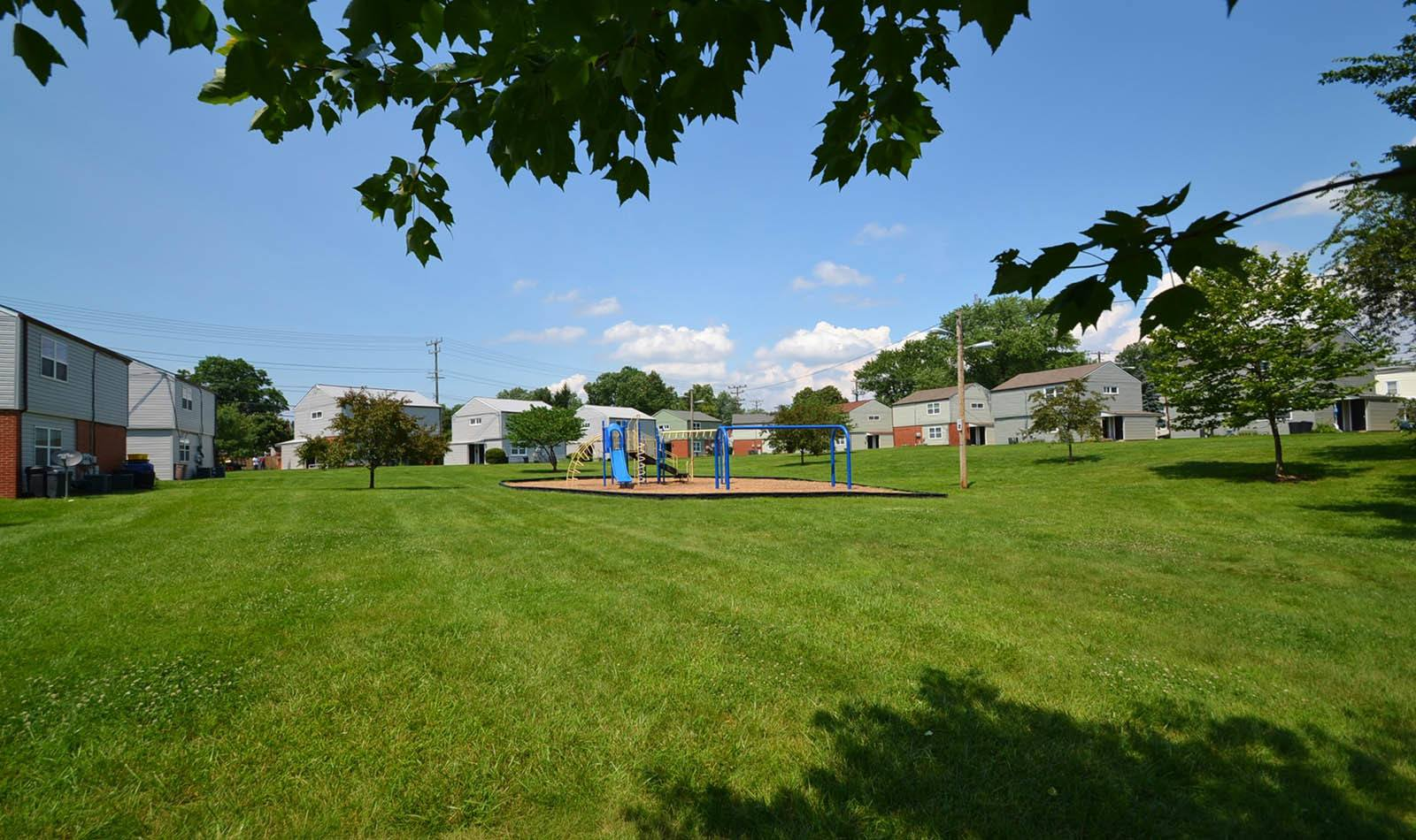 Playground at apartments in Catonsville