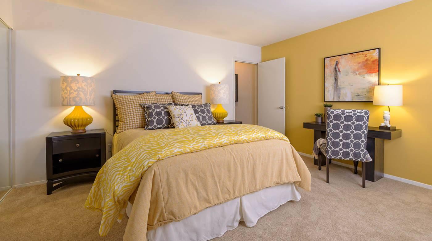Bedroom at Millspring Commons in Richmond, VA
