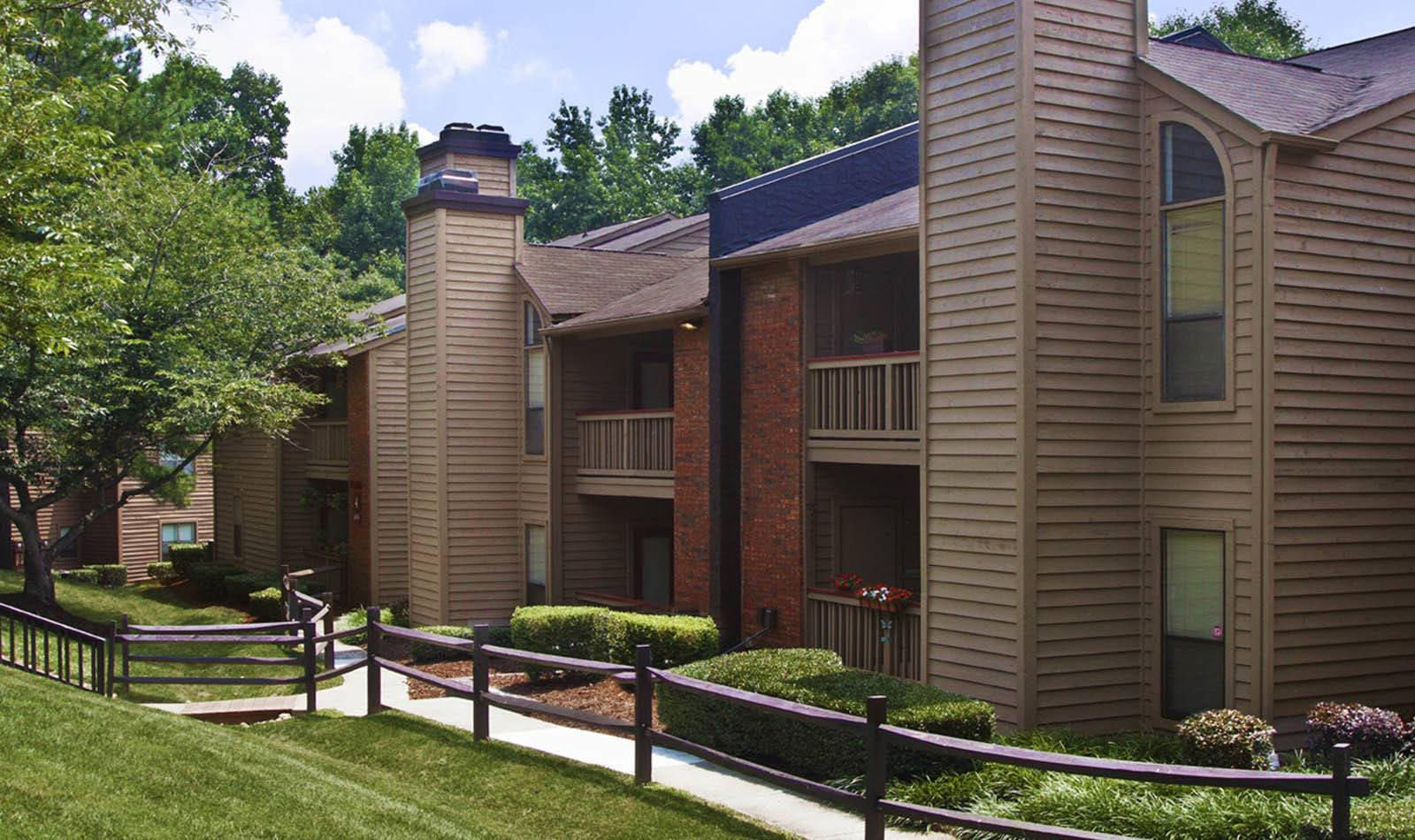 Apartment Exterior at Paces Pointe in Matthews, NC