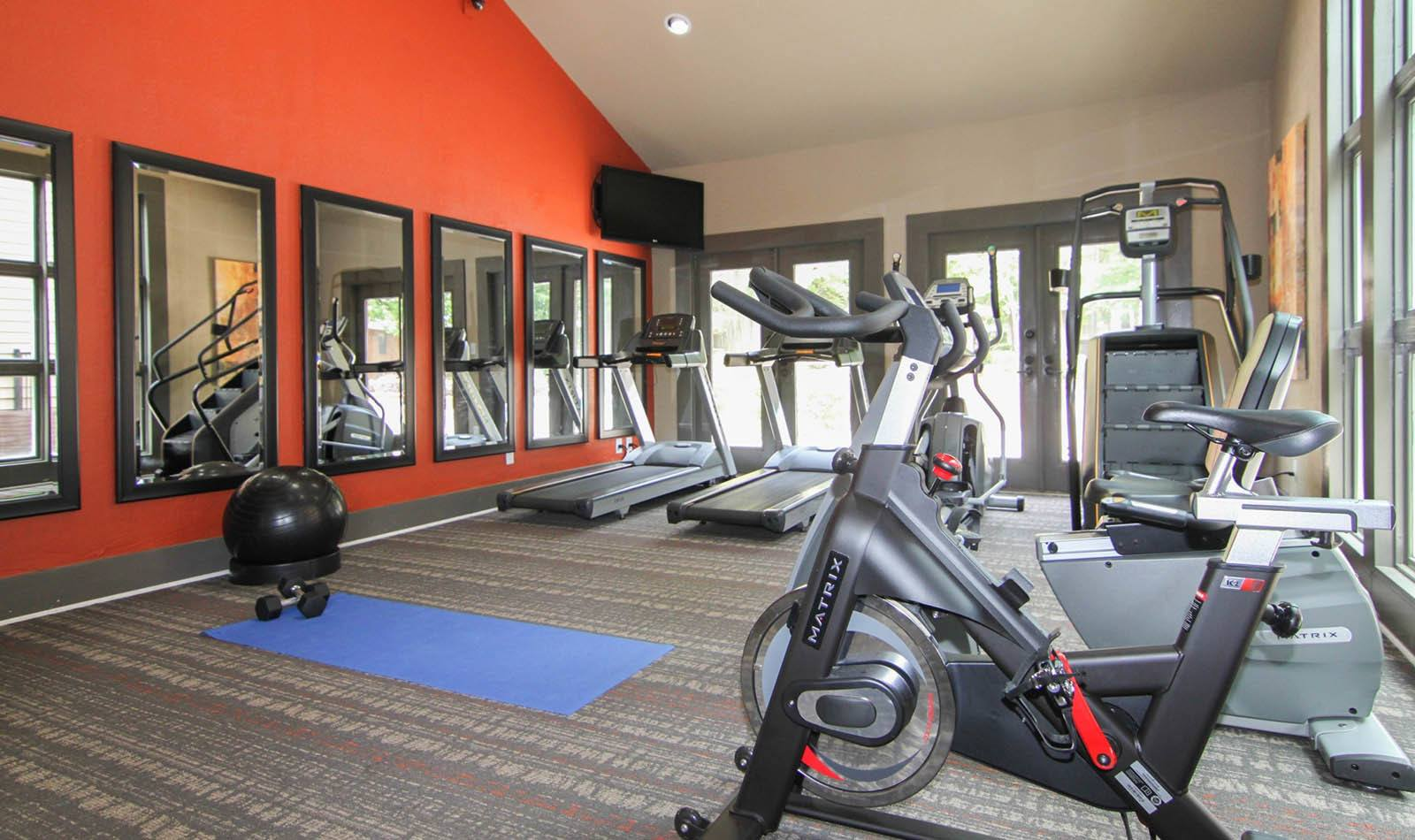 Cardio Equipment at Paces Pointe in Matthews, NC